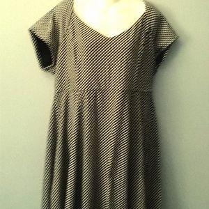 Womens TORRID Black & White Dress 3